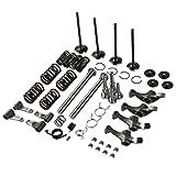 XMT-MOTO Cylinder Head Rebuild Kit for 1999-2008 Honda Sportrax 400 TRX400EX 2x4 | Cylinder Head Intake & Exhaust Valve Keeper Rocker Arm Shaft Rebuild Repair Kit