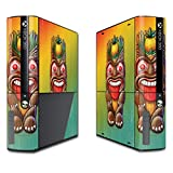 MightySkins Skin For Microsoft Xbox 360E (3rd Gen) – Tiki Man | Protective, Durable, and Unique Vinyl Decal wrap cover | Easy To Apply, Remove, and Change Styles | Made in the USA
