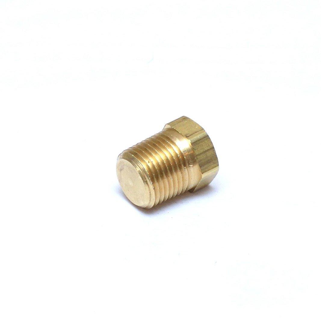 25 Brass Plug Hex Head Size 1//2 QTY Brass Fittings