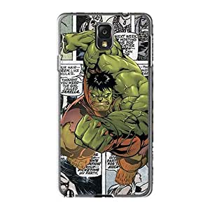Casesbest88 Samsung Galaxy Note 3 Great Hard Phone Case Unique Design Colorful Hulk Comics Image [ixj3634iHoo]