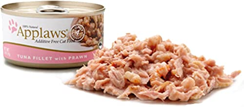 Applaws Tuna Fillet with Shrimp Canned Wet Cat Food