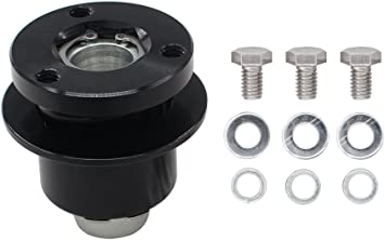 Car Steering Wheel Hub Adapter Car Universal 360 Steering Wheel Quick Release Disconnect Hub 3 Hole Fast disassembly