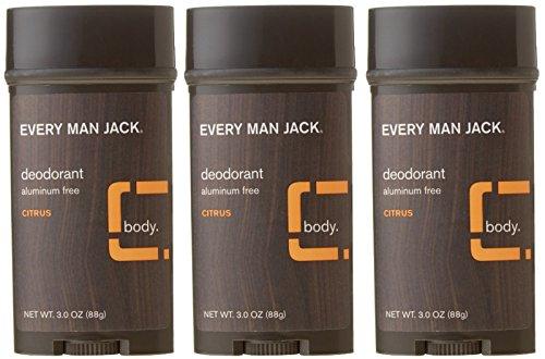 Every Man Jack Deodorant Aluminum Free Citrus 3 Oz (Pack Of 3) by EMJ