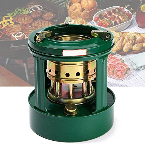 SODIAL Universal Mini Handy Outdoor 8 Wicks Kerosene Stove Burner Camping Oil Heaters