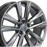 19x7.5 Wheel Fits Lexus, Toyota - RX 350 F Sport Style Hyper Silver Rim, Hollander 74279
