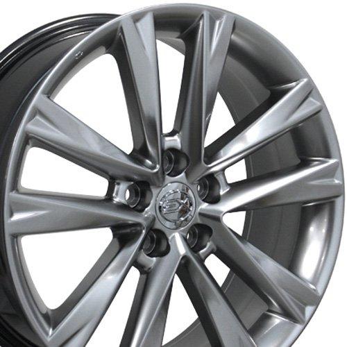 19×7.5 Wheel Fits Lexus, Toyota – RX 350 F Sport Style Hyper Silver Rim, Hollander 74279