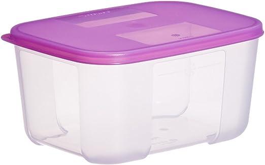 Tupperware grande congelador mate, 1,5 litros (el color puede ...