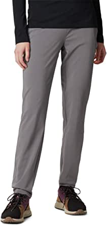 Columbia Womens 186121 Back Beauty Ii Slim Pants, Stain Resistant, Sun Protection Hiking Pants