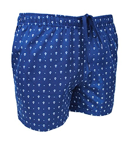 o Pantalones Collezioni azules cortos Ak de ba para hombre wXSnCqx