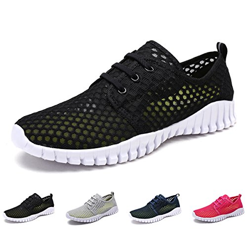 Water Shoes Slip-on Barefoot Lightweight Mesh Sport Running Shoes Casual Sneaker Quick-Dry Drainage Durable Sole Women Men