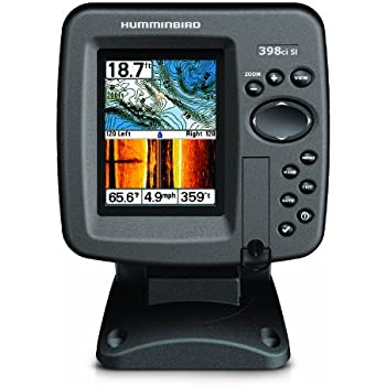 Humminbird 409380 1 398ci side imaging combo for Side imaging fish finders