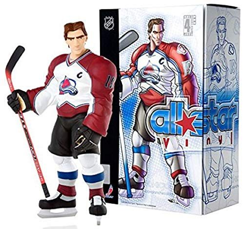 (Upper Deck Authenticated NHL All Star Vinyl Limited Edition: Joe Sakic White Jersey)