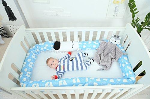 BEAR Baby Pillow, Handmade Pillow, Bolster Pillow by DreamLand Babydecor
