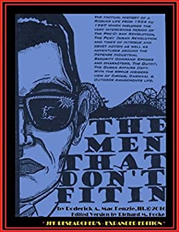 THE MEN THAT DON'T FIT IN - JFK RESEARCHER'S EXPANDED EDITION by [Hooke, Richard, Mac Kenzie, Roderick]