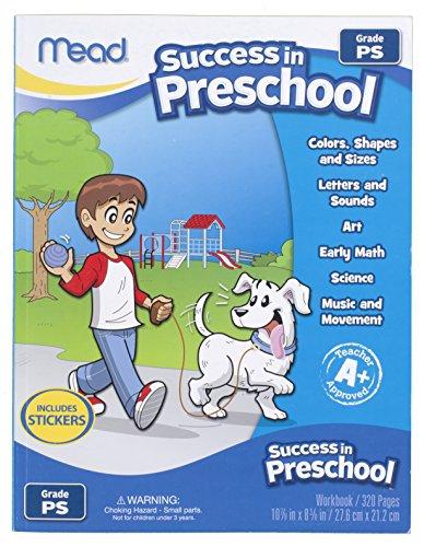 Mead Success In Preschool Workbook, Grades Pre-K (48108)