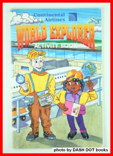 continental-airlines-world-explorer-activity-book
