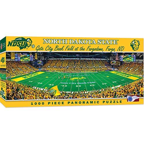 MasterPieces NCAA North Dakota State Bison 1000 Piece Stadium Panoramic Jigsaw Puzzle (Jigsaw Rug)