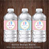 20 pcs/lot Twins Water Bottle Labels Custom Baby Feet Candy Bar wrapper Baby shower Birthday Party decoration