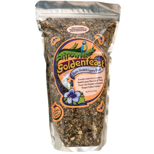 Goldenfeast Hookbill Blend Petite 25oz Bird (Hookbill Food)