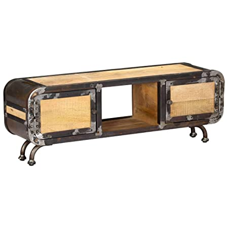 Mobili Porta Tv Stile Industriale.Festnight Mobile Porta Tv In Stile Industriale 120 X 30 X 42