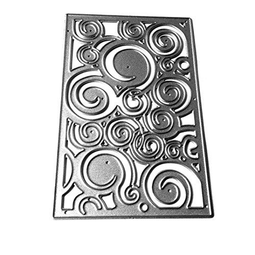 3pcs Flower Metal Cutting Dies Stencils for DIY Scrapbooking - 1
