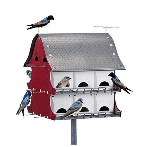 Purple Martin Birdhouse Tri Tel Mounting product image