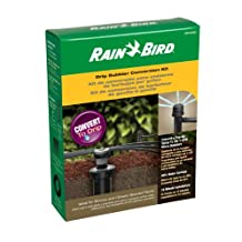 """Rain Bird CNV182MBS Drip Irrigation Sprinkler Conversion Kit, 1800 Pop-Up to 6 Drip Micro Bubblers with 1/4"""" Tubing"""