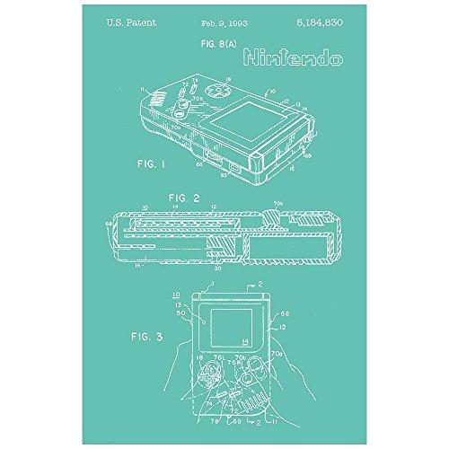 Inked and Screened SP_VIDG_5,184,830_BR_17_W Nintendo Gameboy-1993 Silk Screen Print, 11