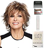 Bundle - 5 items: Trend Setter by Raquel Welch Wig, 15 Page Christy's Wigs Q & A Booklet, Wig Shampoo, Wig Cap & Wide Tooth Comb (Color Selected: SS1425)