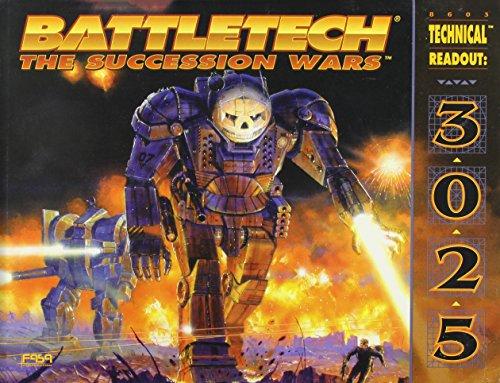 Classic Battletech: Technical Readout 3025 (FPR10985)