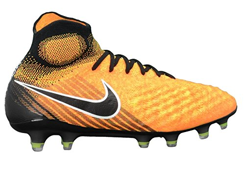 Nike Mens Magista Obra Ii Fg Soccer Cleat (svart, Laser Orange)