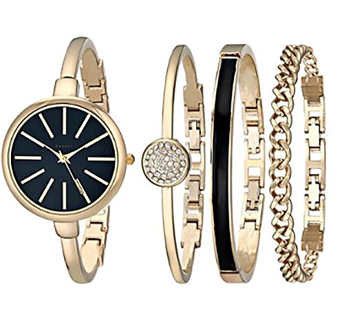 luxury-watch-gift-set-with-bracelet-black-and-gold