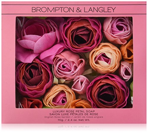 Brompton & Langley Luxury Scented Bath Soap, English Rose Garden