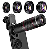 Best Iphone Lens Kits - Phone Camera Lens Kit, Mikikin 5 in 1 Review