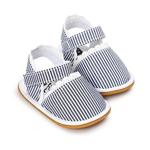 Tefamore Sandalias Zapatos de Recién Nacido Suela Blanda Antideslizante Para Niños Pequeños Bebé Sneakers Primavera y verano A