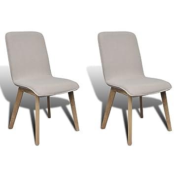 Esszimmerstühle Eiche vidaxl 2xstuhl stuhlgruppe hochlehner esszimmerstühle esszimmerstuhl