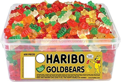 Bulk Gummy Bears - Original Haribo Golden Bears Gummy Sweets Gummy Candy Imported From The UK England The Very Best Of British Gummy Candy