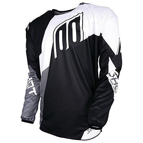 Shot Race Gear Devo Alert Black & White Jersey/ Pant Combo - Size LARGE/ 32W