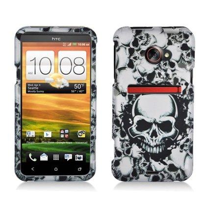 boundle-accessory-for-sprint-htc-evo-4g-lte-white-skull-designer-hard-case-protector-cover-lf-stylus