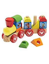 Melissa & Doug Disney Mickey Mouse and Friends Wooden Stacking Train (14 pcs) BOBEBE Online Baby Store From New York to Miami and Los Angeles