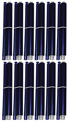 12-pack of KX-FA91 Fax Film Ribbon Refill Rolls for Use in Panasonic KX-FP205 KX-FP215 KX-FP215E KX-FP225 KX-FG2425 KX-FG2451 KX-FG2452 KX-FG2858