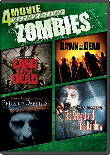 4 Movie Midnight Marathon Pack: Zombies (Snap Case, With Movie Cash)