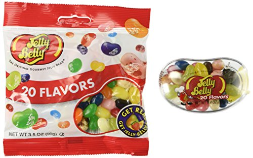 Jelly Belly Bigbean Assorted Jelly Bean Dispenser with a 3.5