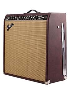 Fender FSR '65 Super Reverb 45-Watt 4x10-Inch Tube Combo Amplifier 120V - Burgundy Wheat