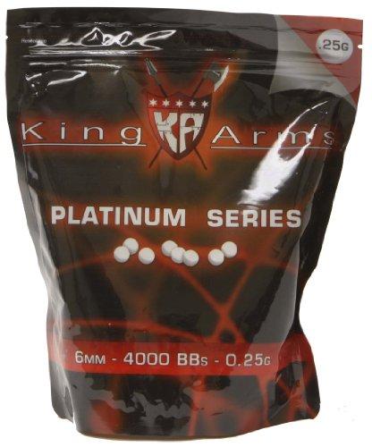 Soft-Air-King-Arms-Platinum-Series-4000-Count-25g-BBs-White