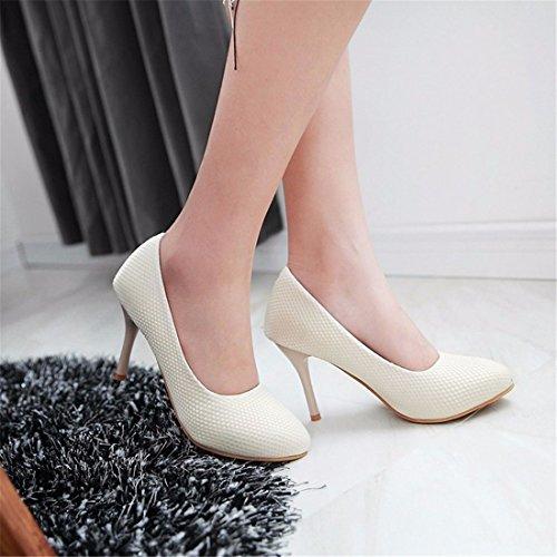 Tallas Zapatos Documental Bien Señalaron Tacón los Zapatos Zapatos Zapatos Alto Zapatos Tacón Beige Grandes de de de OL xOwq7v7I