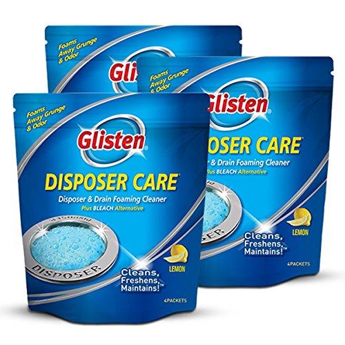 (Disposer Care DP06N-PB Glisten Foaming Garbage Disposer Cleaner)