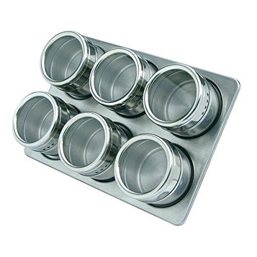 Diny Home & Style Magnetic Spice Rack & Tins
