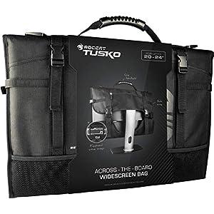 ROCCAT Latest Version Tusko Across-The-Board Flat Screen/Widescreen Bag, Black, 24 Inch