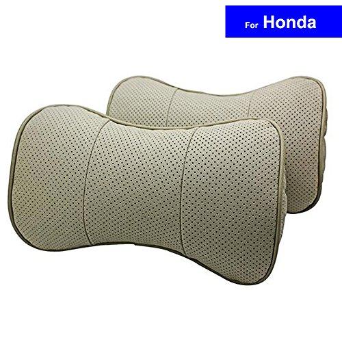 SZSS-CAR 2 Pcs Genuine Leather Bone-shape Car Seat